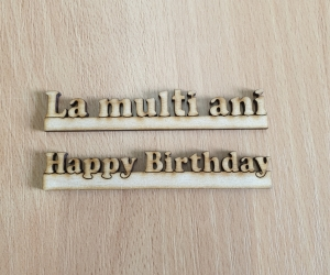 AF09 - Set Happy Birthday si La Multi Ani Mic